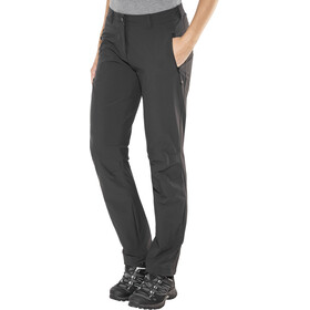 Schöffel Engadin Pantalon Taille courte Femme, black
